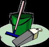 rubberboot schoonmaken